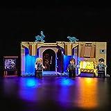 LIGHTAILING Conjunto de Luces (Harry Potter Sala de los Menesteres de Hogwarts) Modelo de Construcción de Bloques - Kit de luz LED Compatible con Lego 75966(NO Incluido en el Modelo)