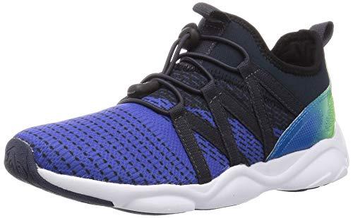 [シュンソク] スニーカー 運動靴 軽量 SL 16~25cm 2E キッズ 男の子 女の子 DSL 0210 ブルー 21.0 cm