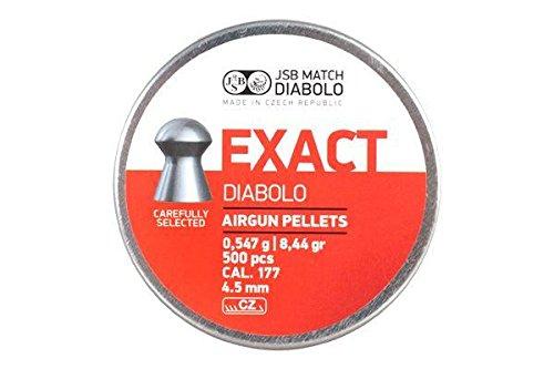 PIOMBINI JSB MATCH DIABOLO EXACT CAL 4,5 CONFEZIONE DA 500 PZ