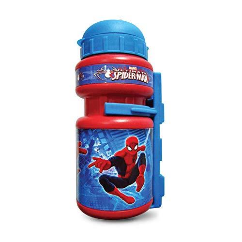 Disney Spider-Man Trinkflasche für Kinder Einheitsgröße rot