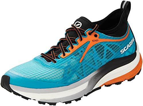 Scarpa Golden Gate, Zapatillas de Trail Running Hombre, Azure-Black ATR i-Respond, 42.5 EU
