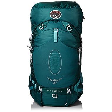 Osprey Women's Aura AG 65 Backpack (2017 Model), Rainforest Green, Medium