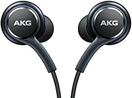 Official Samsung Galaxy S8 / S8+ Handsfree Headphones/Earphones - Tuned by AKG/Harman Kardon - Black (EO-IG955BSEGWW) -...