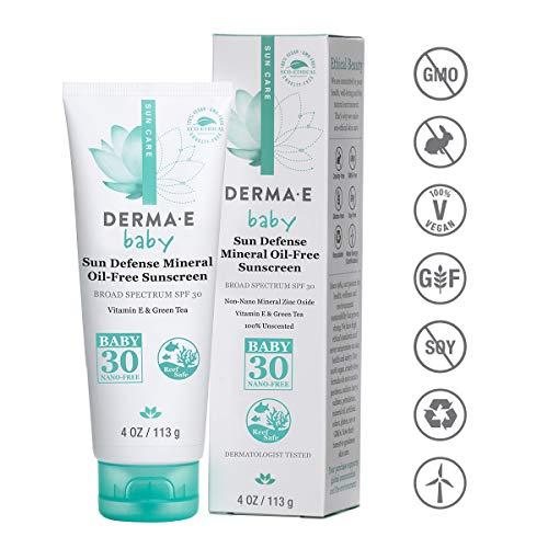 Derma E Beauty - Natural Mineral Sunscreen Baby - 4oz / 113g