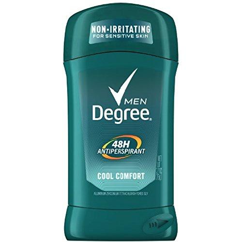 Degree Cool Comfort Original Protection Antiperspirant Stick, 2.7 oz (Pack of 10)