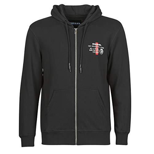 Diesel Herren UMLT-BRANDON-Z Hooded Sweatshirt, 900-0aazr, XL
