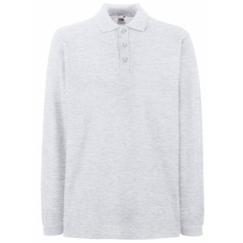 Fruit of the Loom - Polo - Homme - Gris - Cendre - XL