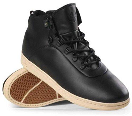 ES Footwear Skateboard Schuhe Leland LX Black/Tan, Schuhgrösse:45