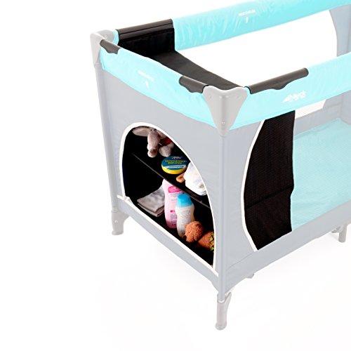 Hauck 598108 Wardrobe für Travelcot 60 cm, black