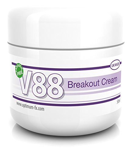 V88 Crema Para Brotes Con Ácido Salicílico Para Granos Puntos Negros Imperfecciones y Piel Problemática SIN Parabenos 50 Gramos