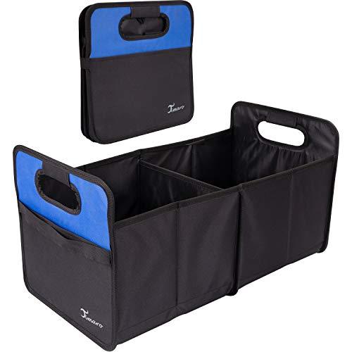 TIMARO Kofferraum Organizer   große Faltbare Einkaufstasche   Klappbox   Shopper Tasche Korb  Kofferraumtasche   Auto Aufbewahrungstasche   Tragekorb Falttasche Einkaufskorb Tragetasche Organisator