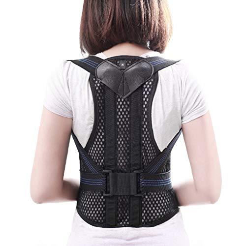 KKCD - Geradehalter Haltungskorrektur, Rückenstütze, Haltungskorrektur Für Den Oberen Rücken, Schulter- Und Schlüsselbeinbereich, Verstellbarer Vorderer Rückengurt, Atmungsaktive Träger Für Männer Und