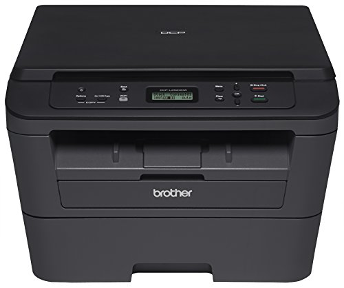 Brother DCPL2520DW Wireless Compact Multifunction Laser Printer and Copier, Amazon Dash Replenishment Ready