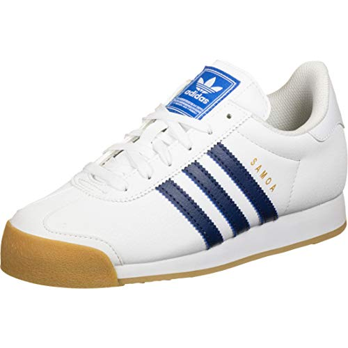 ADIDAS ORIGINALS SAMOA Sneakers hommes Wit/Blauw - 36 2/3 - Lage sneakers