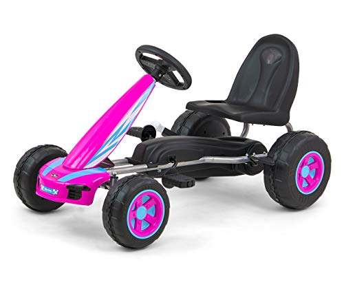Milly Mally Viper Pedal Go-kart Rider