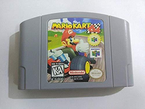 New for Nintendo N64 Mario Kart 64 Video Game Cartridge Card US Version