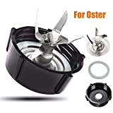 Ersatz für Oster Osterizer Blender Juicer Cutter Basis,Ersatzteile für Standmixer,Zusatzmesser für Oster Osterizer