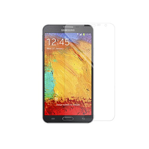 Simplecase Panzerglas passend zu Samsung Galaxy NOTE 3 neo , Premium Bildschirmschutz , Schutz durch Extra Festigkeitgrad 9H , Hülle Friendly , Echtglas / Verb&glas / Panzerglasfolie , Transparent - 1 Stück