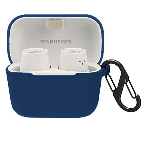 Compatible for Sennheiser CX 400BT Case, Youkei Silicone Case Cover Easy Carrying Protective Case Cover Compatible with Sennheiser CX 400BT (Blue)