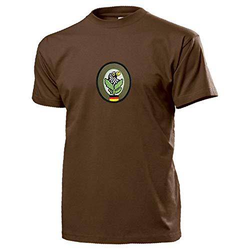 Scharfschützenabzeichen Scharfschütze Abzeichen BW Wappen T Shirt #15418, Größe:S, Farbe:Braun
