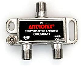 Cable Modem & MOCA Premium Coaxial 2-way Splitter ideal for Bidirectional RG-6 RG-59 Communications