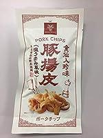 食仙人珍味 豚揚皮(ポークチップ) 20g ×3袋