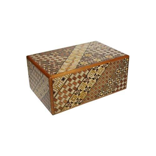 Japanese Puzzle Boxes Yosegi 5 Sun   27 Steps by