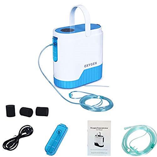 Mobile sauerstoffgeräte dauerflow 1 bis 5 Liter 12 V & 220 V Akku Langzeit-Sauerstofftherapie