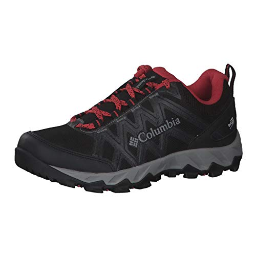 Columbia Peakfreak X2 Outdry, Zapatos de Senderismo, para Mujer, Black, Daredevil, 39 EU