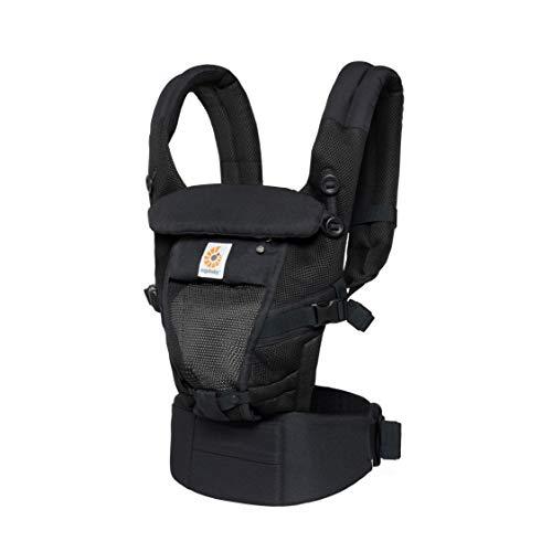 Ergobaby Adapt Cool Air - Mochila portabebés, color negro
