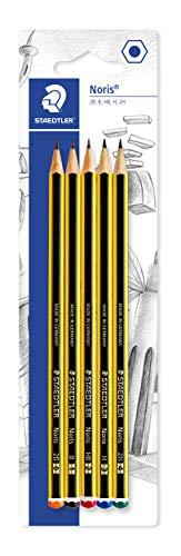 Staedler Noris - Lápiz (5 unidades, dureza variada)