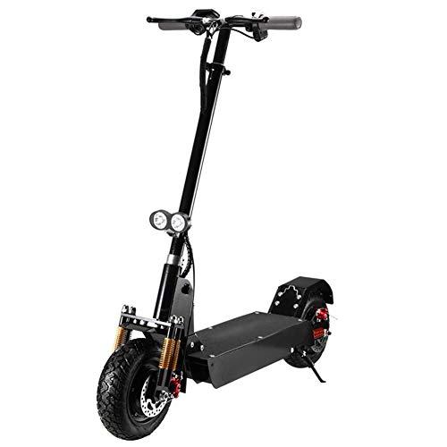 AA-SS Scooter eléctrico Plegable, Instrumento de Control Inteligente Luces LED Off-Road Scooter eléctrico Vehículo Scooter eléctrico de Larga Distancia para Hombres y Mujeres
