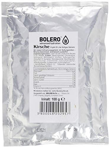 Bolero Drink - Kirsche mit Stevia - 100g Beutel