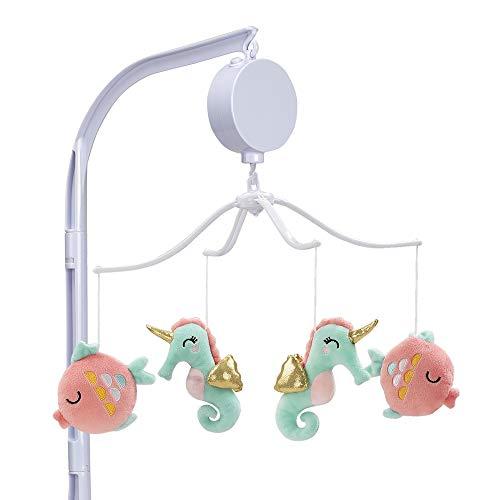 Bedtime Originals Ocean Mist - Cuna musical para bebé, multicolor