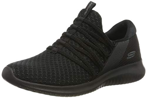 Skechers Women's ULTRA FLEX-BRIGHT FUTURE Trainers, Black (Black BBK), 6 UK 39 EU