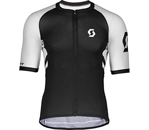 Scott RC Premium Climber Fahrrad Trikot kurz schwarz/weiß 2021: Größe: L (50/52)