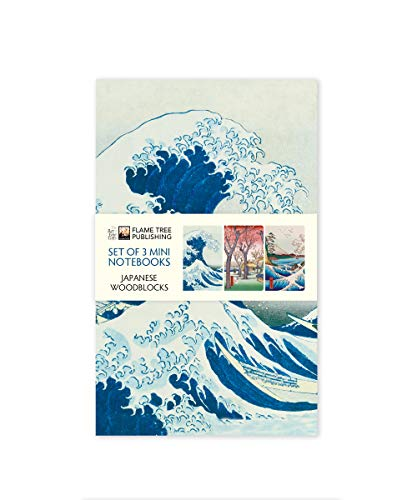 Dreier Set Mini-Notizbücher: Japanische Holzschnitte: Unser beliebten Mini-Notizbücher im 3er-Pack mit flexiblen, künstlerisch gestalteten Einbänden ... des Künstlers (Mini-Notizbücher (3er-Pack))