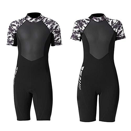 VGEBY 1,5 mm eendelig duikpak premium neopreen dames heren wetsuit voor duiken snorkelen zwemmen surfen duiken