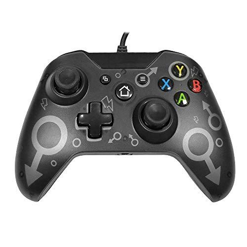 GZW-SHOP Manette Filaire Contrôleur Jeux pour Xbox One, Xbox One S, Xbox One X, Windows PC