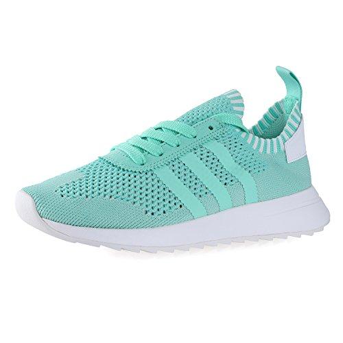 adidas Flashback Primeknit - Zapatillas deportivas para mujer, color verde