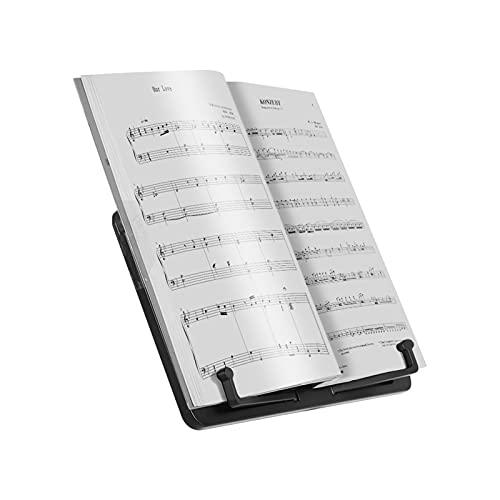 Leggio per spartiti Mini Desktop Music Stand Portable Cookbook da Cucina Tablet Smartphone Libro Lettura Documenti Supporto per Supporto Accessori (Color : Style 1)