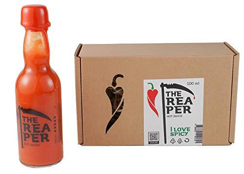 I LOVE SPICY The Reaper Salsa Picante (Carolina Reaper Chile 85%) 100 ml Calor 7/5 Louisiana Estilo