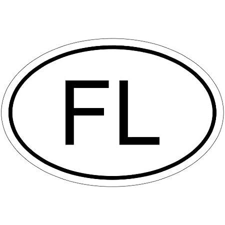 Kiwistar Liechtenstein Fl 10 X 6 6cm Autoaufkleber Sticker Aufkleber Kfz Flagge Auto
