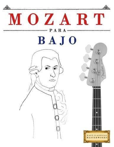 clasificación y comparación Mozart para bajo: 10 obras sencillas para principiantes para casa