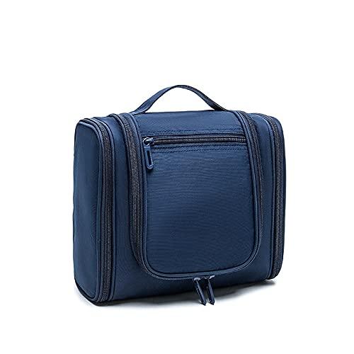 Bolsa De Cosméticos De Viaje, Cinturón Impermeable Para Colgar, Compre Una Bolsa De Aseo De Almacenamiento De Gran Capacidad, Contenedor De Tamaño Completo, Adecuado Para Hombres Y Mujeres,Navy blue