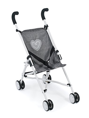 Bayer Chic 2000 601 76 Mini-Buggy Puppe, Grau