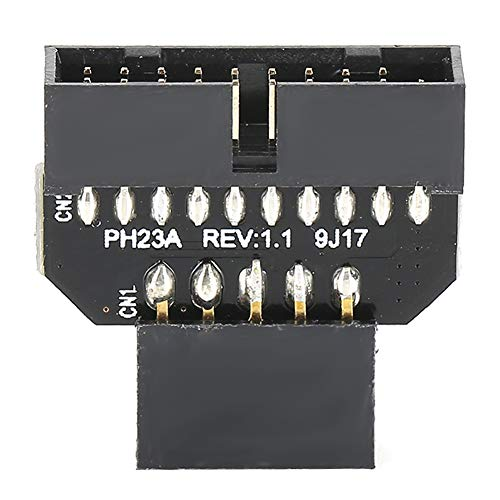 Placa Base PH23A Adaptador De Panel Frontal USB 2.0 De 9 Pines A Conector USB 3.0 De 19 Pines(PH23A)