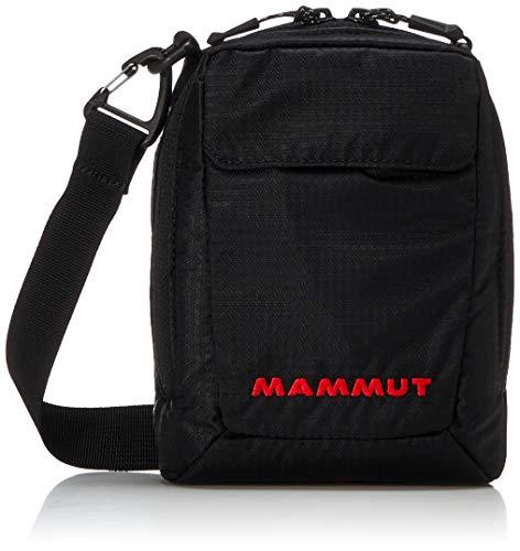 Mammut Uni Schultertasche Schultertasche Täsch Pouch, schwarz, 24 x 20 x 10 cm, 3 Liter