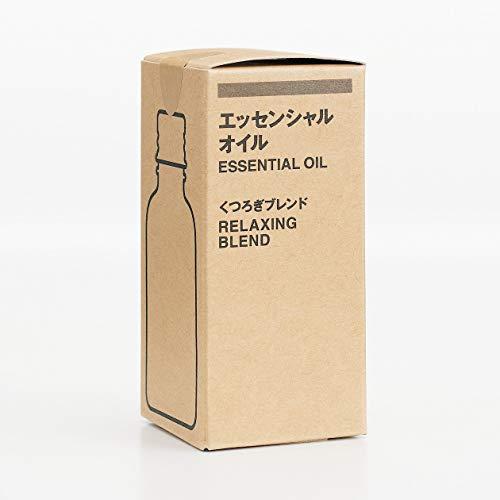 無印良品エッセンシャルオイルくつろぎブレンド30ml