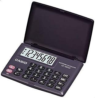 CASIO LC-160LV-BK Portable Practical Calculator